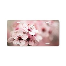 Cherry Plum (Prunus ceracif Aluminum License Plate