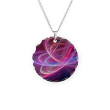 Chaos waves, artwork Necklace