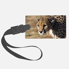 Cheetah Luggage Tag