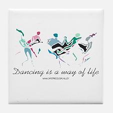 Dance Life Tile Coaster