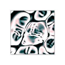 """Cell scaffold, artwork Square Sticker 3"""" x 3"""""""