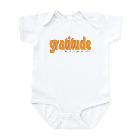 Gratitude is the Attitude Infant Bodysuit