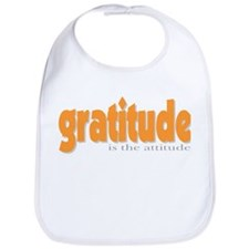 Gratitude is the Attitude Bib