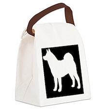Akita Canvas Lunch Bag