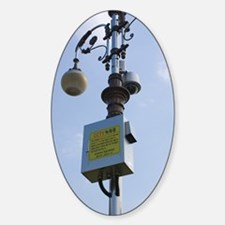 CCTV camera on lamp post, Daejeon Decal