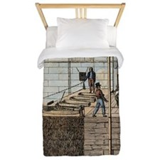 Cato Street Conspiracy executions Twin Duvet