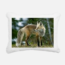 Cascade red fox Rectangular Canvas Pillow