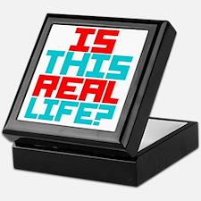 Is This Real Life Keepsake Box