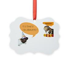 Piggy Celebration Ornament