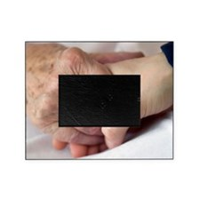 Caring for the elderly, conceptual i Picture Frame