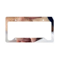 Caring for the elderly, conce License Plate Holder