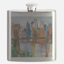 Brooklyn Bridge Bathroom Flask