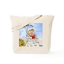 Cape Cod Lifeguard Bathroom Tote Bag