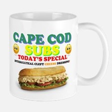 CAPE COD SUBS - ASS CRACK CHEESE DRESSING! Mugs