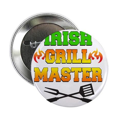 "Irish Grill Master Apron 2.25"" Button"