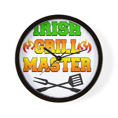 Irish Grill Master Apron Wall Clock