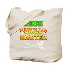 Irish Grill Master Dark Apron Tote Bag