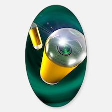 Capsule endoscopes, conceptual imag Decal