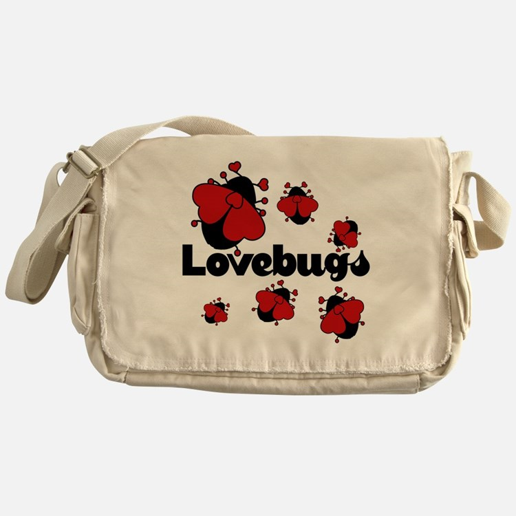 Love bugs Messenger Bag