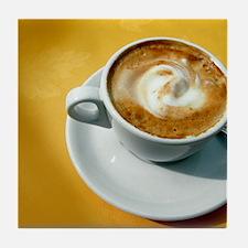 Cappuccino Tile Coaster