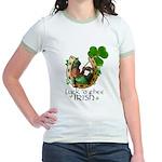 Irish Luck Jr. Ringer T-Shirt