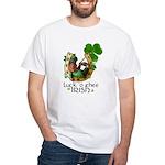 Irish Luck White T-Shirt