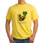 Irish Luck Yellow T-Shirt