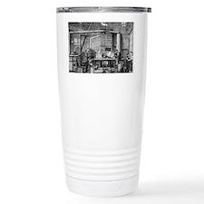 Canning kitchen, 19th century Travel Mug