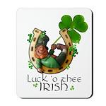 Irish Luck Mousepad