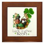 Irish Luck Framed Tile