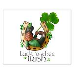 Irish Luck Small Poster