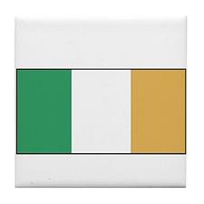 Irish Flag - Ireland Tile Coaster