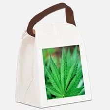 Cannabis leaves Canvas Lunch Bag