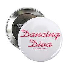 Dancing Diva (pink) Button