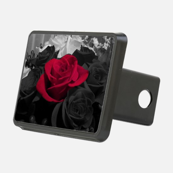 Red rose pop color Hitch Cover