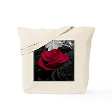 Red rose pop color Tote Bag
