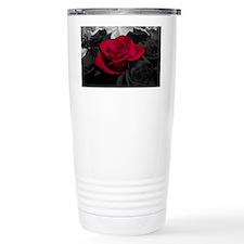 Red rose pop color Travel Mug