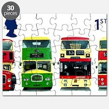 2001 Great Britain Double-Decker Bus Postage Stamp