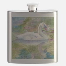 Swan Song Bathroom Flask