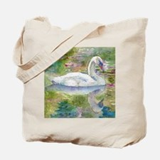 Swan Song Bathroom Tote Bag