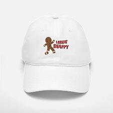 Gingerbread Man Snappy Baseball Baseball Cap