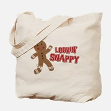 Gingerbread Man Snappy Tote Bag