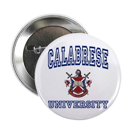 "CALABRESE University 2.25"" Button (10 pack)"