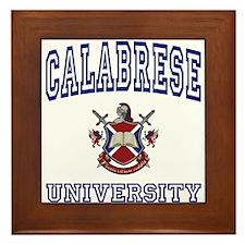 CALABRESE University Framed Tile