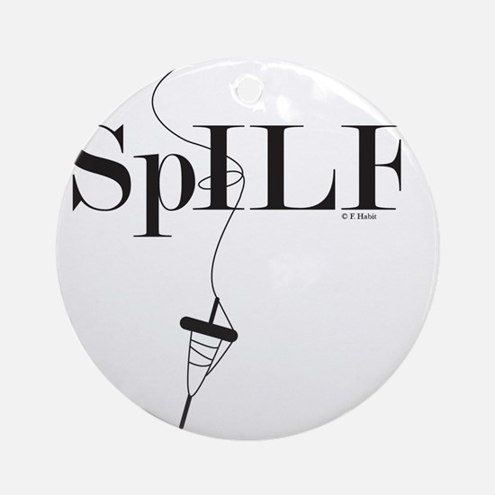 SpILF (Spindle) Round Ornament