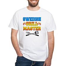 Swedish Grill Master Apron Shirt