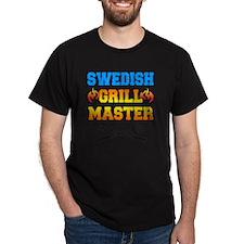 Swedish Grill Master Apron T-Shirt