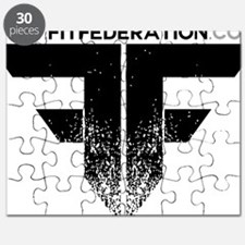 FF Logo Black on White Puzzle