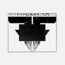 FF Logo Black on White Picture Frame