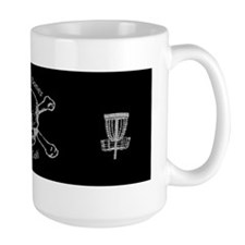 Skull and Bones Sticker Mug